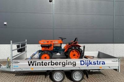 Kubota B6001 | Winterberging Dijkstra